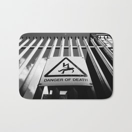 Danger of Death #1 | Shock Tactics Bath Mat
