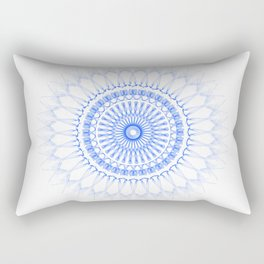Snowflake #009 transparent Rectangular Pillow