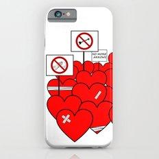 NO MORE VALENTINE'S DAY (love valentine) iPhone 6s Slim Case