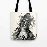 passion Tote Bags featuring Passion by DIVIDUS