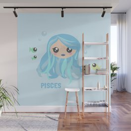 Pisces Wall Mural