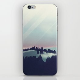 Castle in the Mountains iPhone Skin
