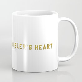 A Traveler's Heart Coffee Mug