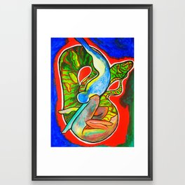 Temptation Framed Art Print