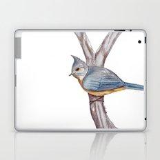 Grey-crested Tit Laptop & iPad Skin