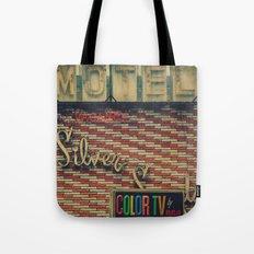 Silver Sands Motel Tote Bag