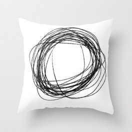 cs Throw Pillow