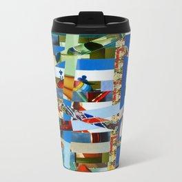 Michael (stripes 9) Metal Travel Mug