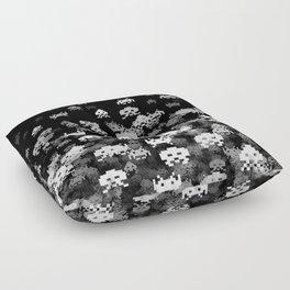 Invaded BLACK Floor Pillow