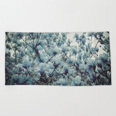 Magnolia Blues Beach Towel
