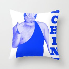 Memphis Wrestler Dream Machine Throw Pillow
