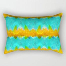 Summer Vibes Tie Dye in Tropical Rectangular Pillow