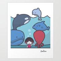 Our Ocean Art Print