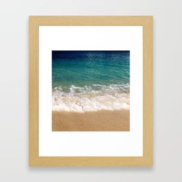 Cayman Waves Framed Art Print
