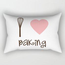 I Heart Baking Rectangular Pillow