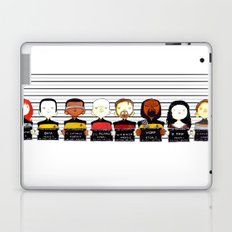 ST: TNG Police Lineup Laptop & iPad Skin