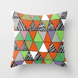Triangle 2 Throw Pillow