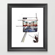 Container Love Framed Art Print