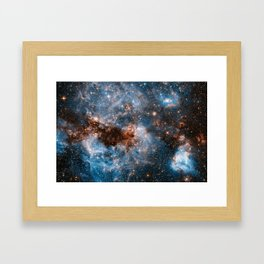 Into The Storm, Galaxy Background, Universe Large Print, Space Wall Art Decor, Deep Space Poster Framed Art Print