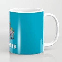 Drunk Muppets Cartoon Parody Coffee Mug