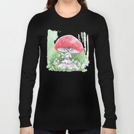 Empire of Mushrooms: Amanita Muscaria Long Sleeve T-shirt