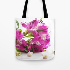 Flower magic in pink Tote Bag
