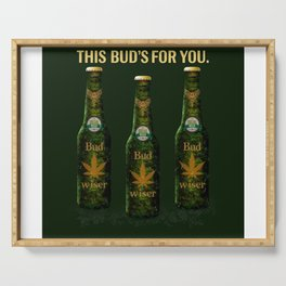 Bud's for you! Serving Tray