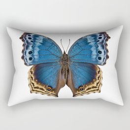 """Butterfly species Salamis temora """"Mother-of-Pearls butterfly"""" Rectangular Pillow"""