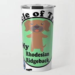 Circle Of Trust Cute Rhodesian Ridgeback Travel Mug