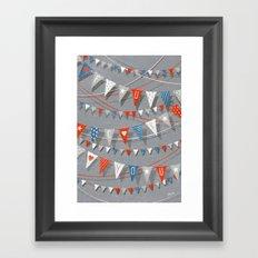 Hate card Framed Art Print