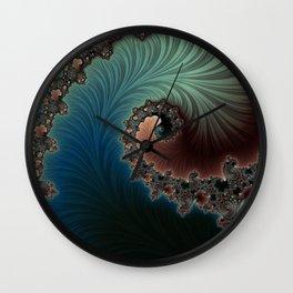 Velvet Crush - Fractal Art Wall Clock