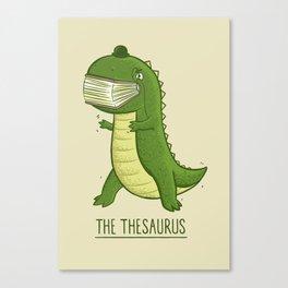 The Thesaurus Canvas Print