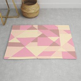 Irregular Triangle Pattern Rug