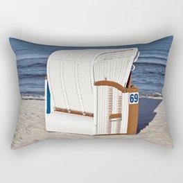 BEACH CHAIR No.69 - Baltic Sea - Isle Ruegen Rectangular Pillow