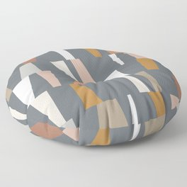 Neutral Geometric 02 Floor Pillow