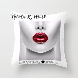 Extraordinary Romance Throw Pillow