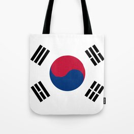 South Korean Flag Tote Bag