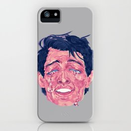 Attractive Crying Man iPhone Case
