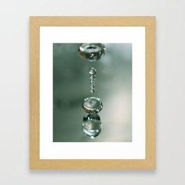 Liquid Play 1 Framed Art Print