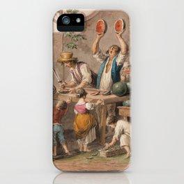 Neapolitan Watermelon Shop iPhone Case