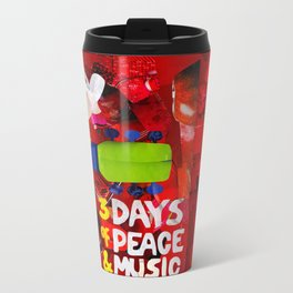 Tribute to Woodstock Metal Travel Mug