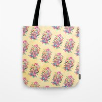 Tote Bags featuring Kick of Freshness by Fimbis