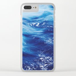 Sea Waters Clear iPhone Case