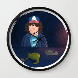 Dustin and Dart Wall Clock