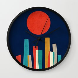 World's Edge Wall Clock
