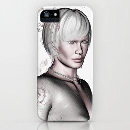 Portrait in Beige iPhone Case