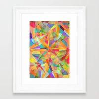 star Framed Art Prints featuring Star by Danny Ivan