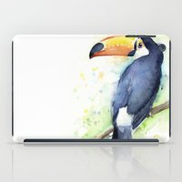 toucan iPad Cases featuring Toucan by Olechka