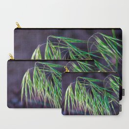 Hyper Exposed Hayseed On Purple Carry-All Pouch