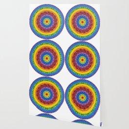 Rainbow Spectrum Mandala Wallpaper